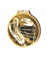 Habitat Classic Lacrosse Gold Eco Friendly Wooden Medal