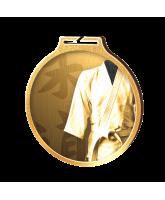 Habitat Classic Martial Arts Gold Eco Friendly Wooden Medal