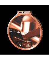 Habitat Classic Motorsports Bronze Eco Friendly Wooden Medal