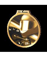 Habitat Classic Motorsports Gold Eco Friendly Wooden Medal