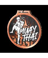 Habitat Classic Muay Thai Bronze Eco Friendly Wooden Medal