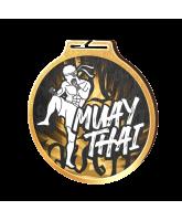 Habitat Classic Muay Thai Gold Eco Friendly Wooden Medal