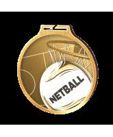 Habitat Classic Netball Gold Eco Friendly Wooden Medal