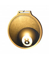 Habitat Classic Pool Gold Eco Friendly Wooden Medal