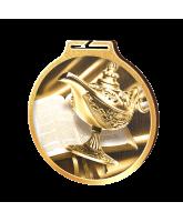 Habitat Classic Quiz Magic Lamp Gold Eco Friendly Wooden Medal
