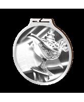 Habitat Classic Quiz Magic Lamp Silver Eco Friendly Wooden Medal