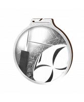 Habitat Classic Rugby Silver Eco Friendly Wooden Medal