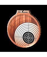 Habitat Classic Shooting Target Bronze Eco Friendly Wooden Medal