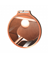 Habitat Classic Table Tennis Bronze Eco Friendly Wooden Medal