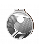 Habitat Classic Table Tennis Silver Eco Friendly Wooden Medal