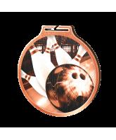 Habitat Classic Tenpin Bowling Bronze Eco Friendly Wooden Medal