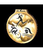 Habitat Classic Triathlon Gold Eco Friendly Wooden Medal