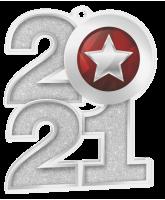 Silver Star 2021 Acrylic Medal