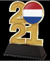 Netherlands Flag 2021 Trophy