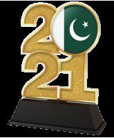 Pakistan Flag 2021 Trophy