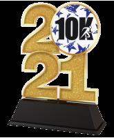 Running 10K 2021 Trophy