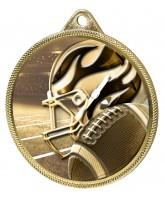 American Football Classic Texture 3D Print Gold Medal