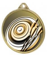 Archery Classic Texture 3D Print Gold Medal