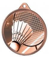 Badminton Classic Texture 3D Print Bronze Medal
