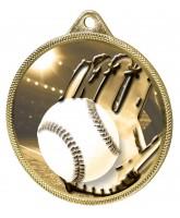 Baseball Classic Texture 3D Print Gold Medal
