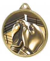 Boxing Classic Texture 3D Print Gold Medal