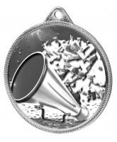Cheerleading Texture 3D Print Silver Medal