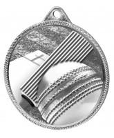 Cricket Classic Texture 3D Print Silver Medal