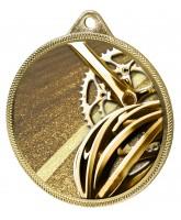 Cycling Classic Texture 3D Print Gold Medal