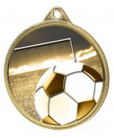 Football Classic Texture 3D Print Gold Medal