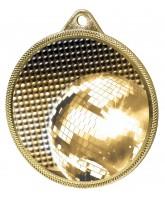 Glitterball Dance Classic Texture 3D Print Gold Medal