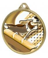 Gymnastics Boys Classic Texture 3D Print Gold Medal