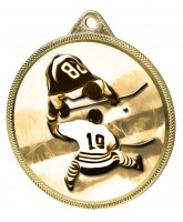 Ice Hockey Classic Texture 3D Print Gold Medal