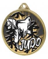 Judo Classic Texture 3D Print Gold Medal