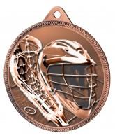 Lacrosse Classic Texture 3D Print Bronze Medal