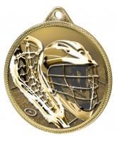 Lacrosse Classic Texture 3D Print Gold Medal