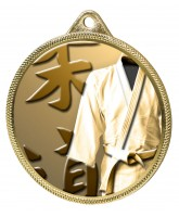 Martial Arts Kimono Classic Texture 3D Print Gold Medal