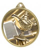 Quiz Knowledge Texture 3D Print Gold Medal