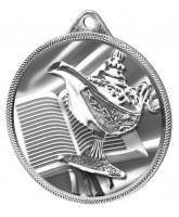 Quiz Knowledge Texture 3D Print Silver Medal