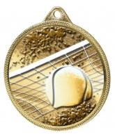 Tennis Classic Texture 3D Print Gold Medal