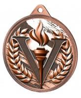 Victory Classic Texture 3D Print Bronze Medal