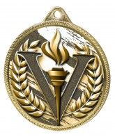 Victory Classic Texture 3D Print Gold Medal