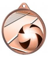 Volleyball Classic Texture 3D Print Bronze Medal