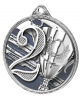 2nd Place Classic Texture 3D Print Silver Medal