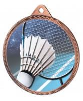 Badminton Colour Texture 3D Print Bronze Medal