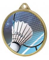 Badminton Colour Texture 3D Print Gold Medal