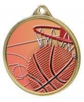 Basketball Colour Texture 3D Print Gold Medal