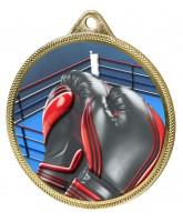 Boxing Colour Texture 3D Print Gold Medal