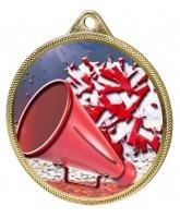 Cheerleading Colour Texture 3D Print Gold Medal