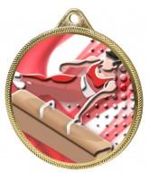Gymnastics Boys Colour Texture 3D Print Gold Medal