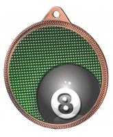 Pool Colour Texture 3D Print Bronze Medal